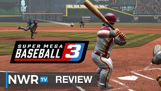 Super Mega Baseball 3 (Nintendo Switch) Review (Video Game Video Review)