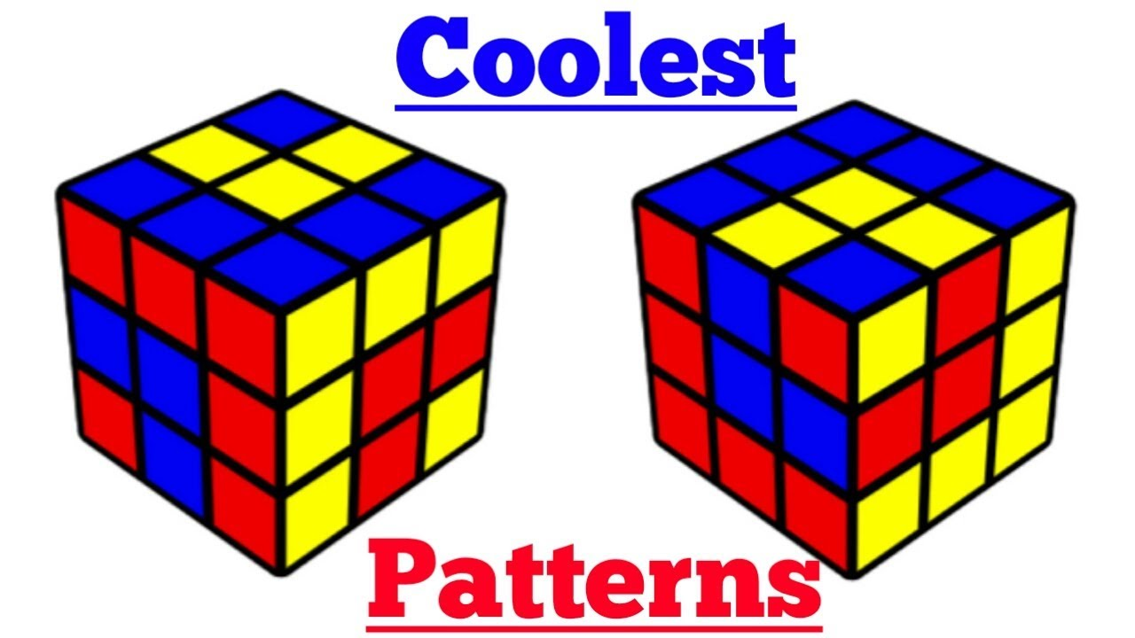 Cool Rubiks Cube Patterns Simple Inspiration