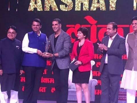 Kareena Kapoor & Akshay Kumar At Lokmat Maharashtrian of The Year Awards 2018