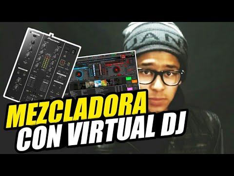 Tutorial.Como conectar una mezcladora a VIRTUAL DJ