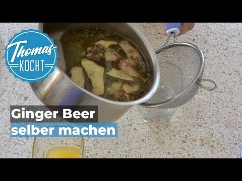 Ginger Beer selber machen / Fermentation mit Hefe / Thomas kocht