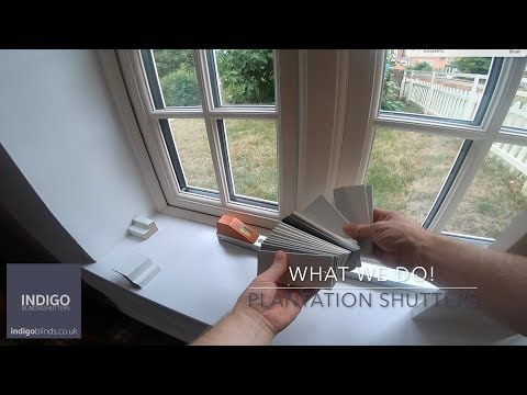 What we do! Indigo Blind and Shutters Measuring And Fitting!