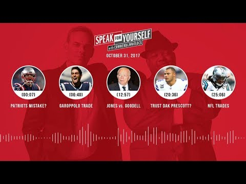 SPEAK FOR YOURSELF Audio Podcast (10.31.17) with Colin Cowherd, Jason Whitlock   SPEAK FOR YOURSELF