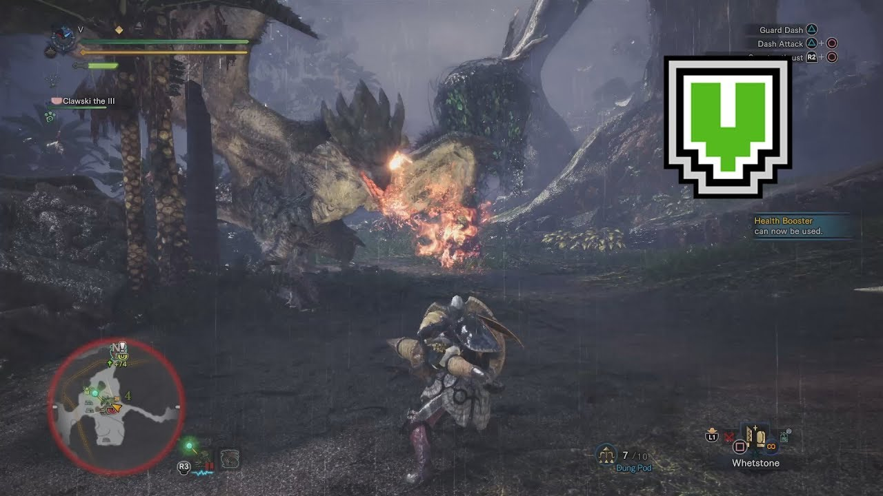 SLEEPING SYLVAN QUEEN / 16'51''91 / Rathian / Lance (MHW 6 Star ★ Optional  Quest)
