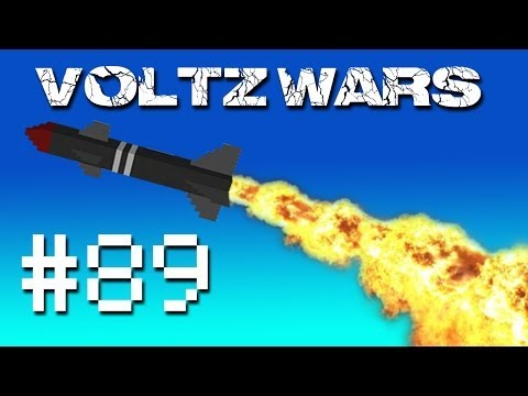 Minecraft Voltz Wars - Force Field Defense! #89