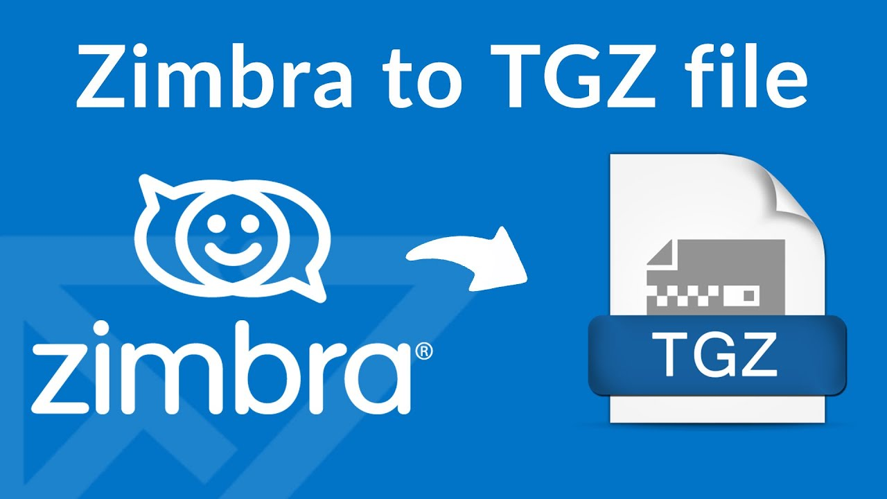 How to Extract Zimbra TGZ files after Exporting from Zimbra Desktop