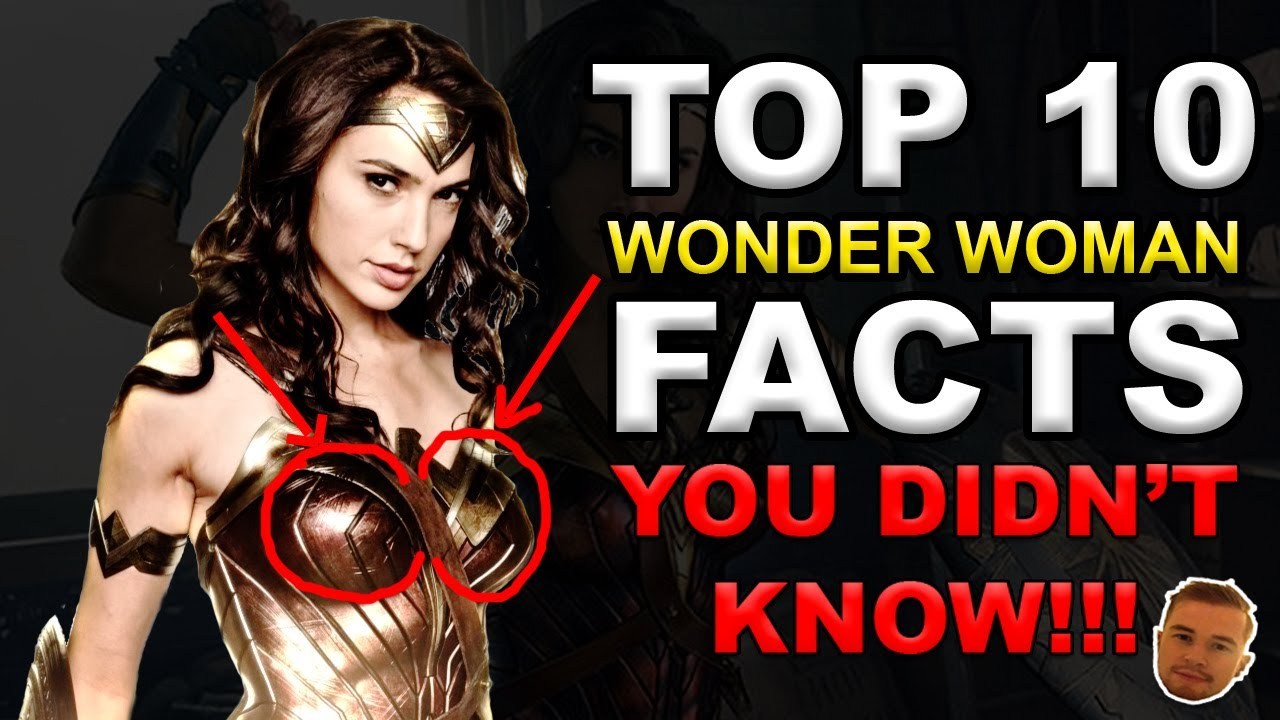 top 10 wonder woman