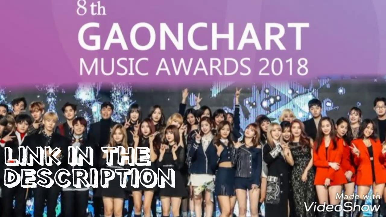Link 8th Gaon Chart Music Awards Gma 2019 Blackpink Ikon