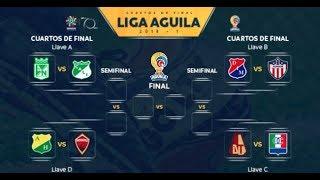 Fecha de los partidos de ida y vuelta  liga águila 2018 gran error en el sorteo de la liga 1 2018