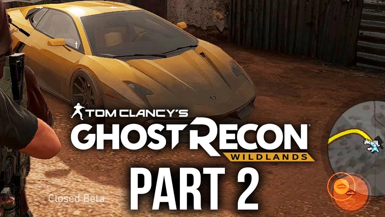Ghost Recon Wildlands Gameplay Walkthrough Part Super Car