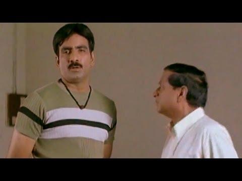 Idiot Movie || Hilarious Comedy Between Ravi Teja & M.S.Narayana