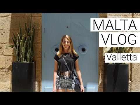 Malta Vlog #6 Valletta