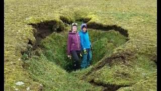 New Sinkholes Open Up Around Volcano In Iceland
