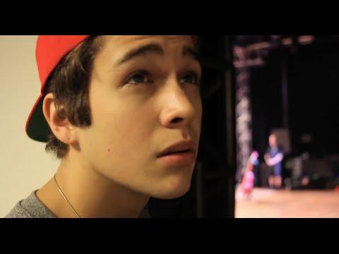 Austin dances samba in Brazil & Mahomie Q&A