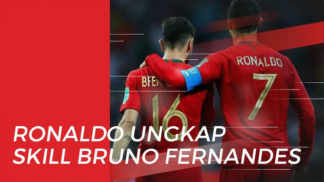 Cristiano Ronaldo Sebut Manchester United Beruntung Dapatkan Bruno Fernandes