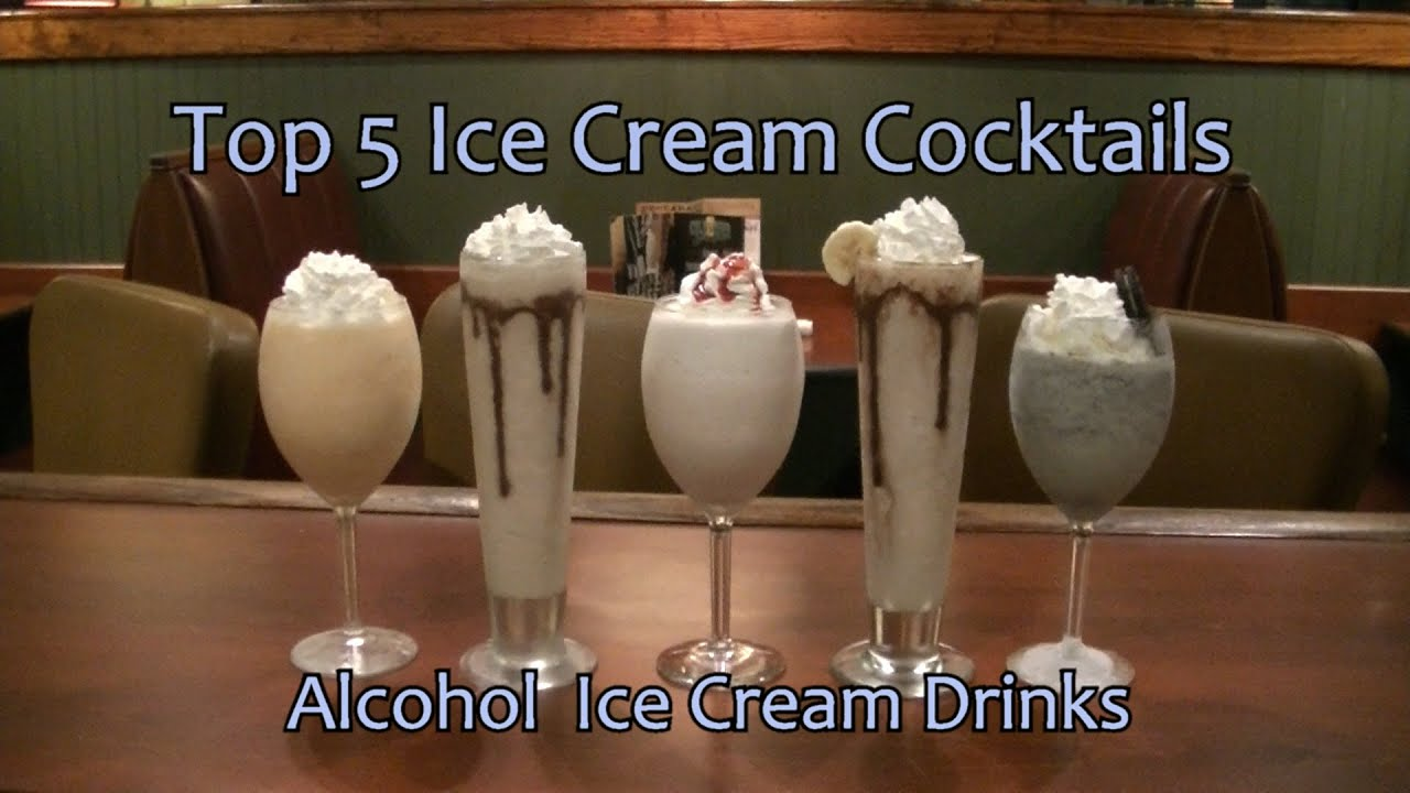 Top 5 ice cream cocktails alcohol ice cream drinks top 5 for Ice tropez alcohol percentage