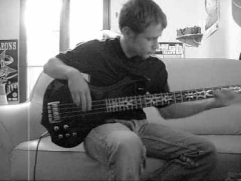 Hoobastank - Earthsick [Bass Cover]