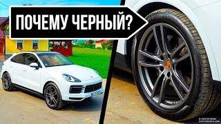 Почему шины автомобилей черные