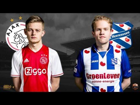 Dani Hagebeuk - Niels Krist | Ajax - SC Heerenveen | Speelronde 31 | E-Divisie