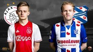 Landskampioen Dani Hagebeuk - Niels Krist | Ajax - SC Heerenveen | Speelronde 31 | E-Divisie