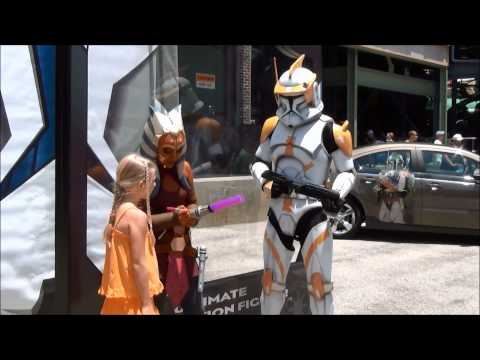 Star Wars Weekends Characters Featuring Darth Vader, Talking Stormtroopers, Ahsoka Tano and more