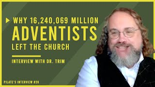 16 MILLION Members GONE! Why are Seventh-day Adventists Disappearing?: Interview with Dr. David Trim