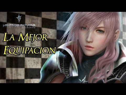 Lightning Returns FFXIII - SUPER Equipacion 5★ ANULAR Daño Fisico y Magico FULL HD 1080p Aeronite