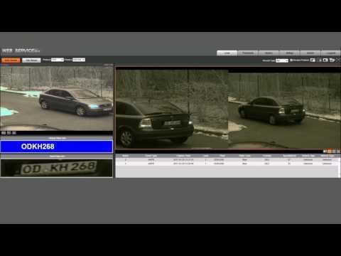 Kennzeichenerkennung SANTEC Burg Wächter HD IP Kamera SNC CPR 01