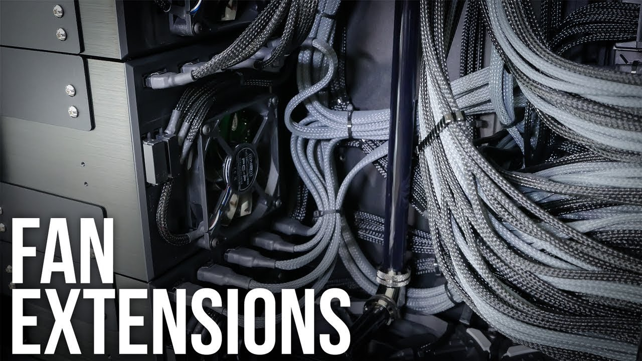 Fan Extension Cables Guide - YouTube
