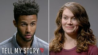 Would She Still Date Him After He Says This....??  | Tell My Story, Blind Date