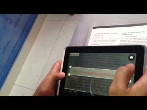 Tesseract ocr android demo mode