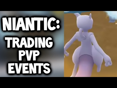 "POKEMON GO NEWS: ""EVENTS IN 2017? & PvP or Trading SUPPOSED to be released ALREADY in Pokémon GO"""