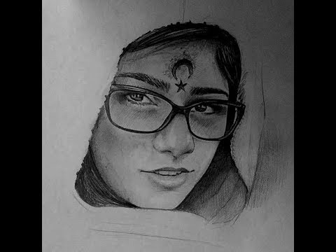 Drawing Mia Khalifa