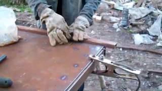 Как сделать стальную дверь своими руками.