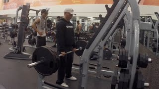 Old Man Kills It At The Gym... Do You Even Lift Bro?