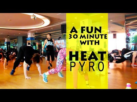 GOLD'SGYM, HEAT PYRO CLASS