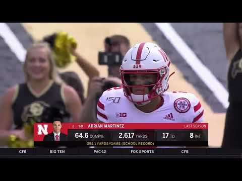Nebraska vs Colorado 2019 In 40 Minutes (Full Game)