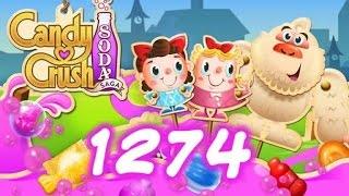 Candy Crush Soda Saga Level 1274 - 19 Moves Left