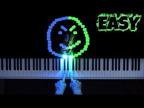 Billie Eilish - Bad Guy [Easy Piano Tutorial]