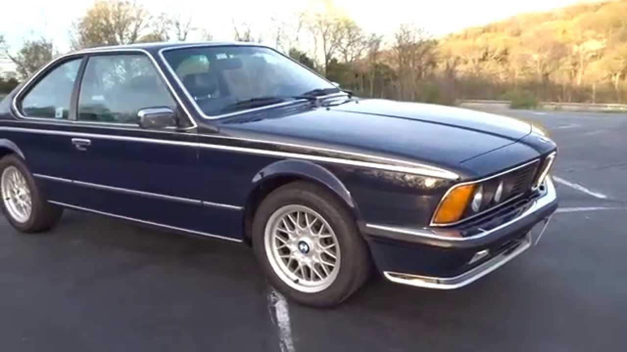 Worksheet. My 1984 BMW 635CSi EuroSpec E24 Shark Walk Around Video  YouTube