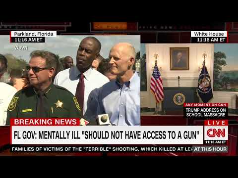 Rick Scott: If someone is mentally ill, they shouldn't have access to a gun