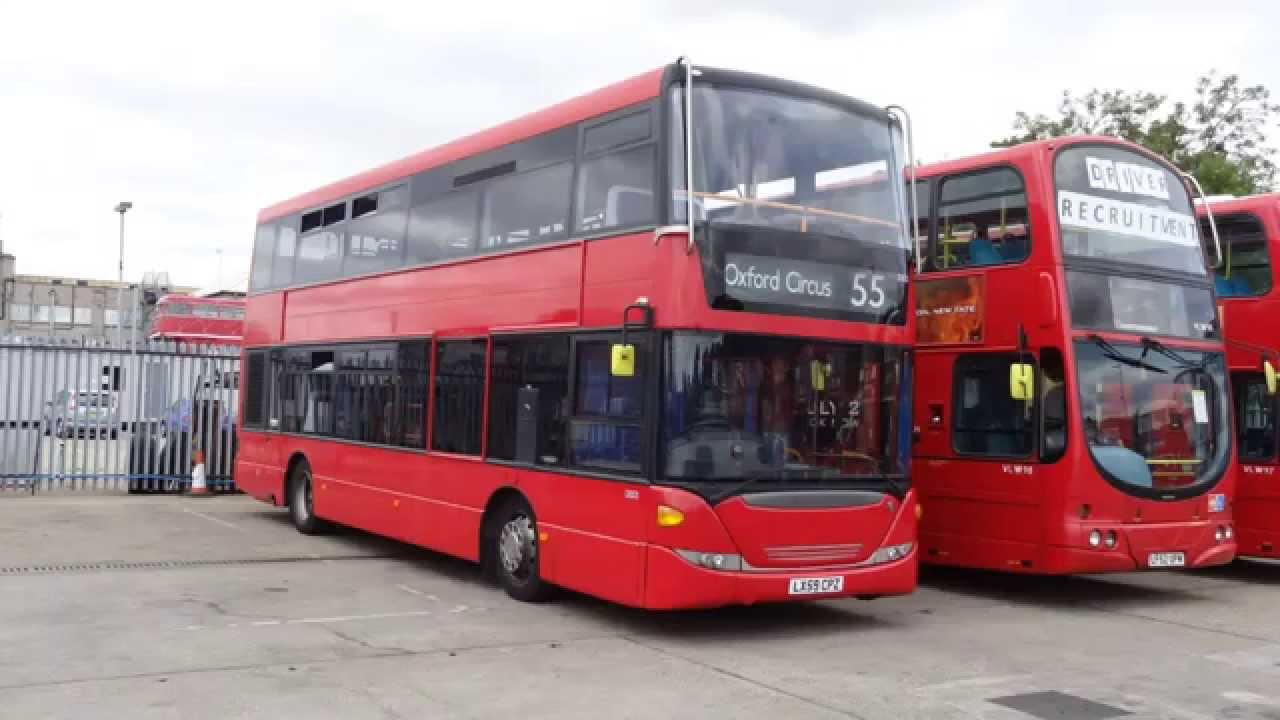 Sullivan Buses  Bus Garage and Engineering Base Tour