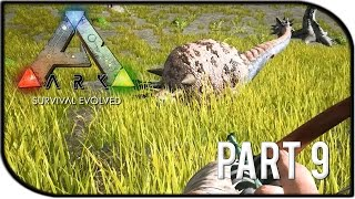 "ARK: Survival Evolved Gameplay Part 9 - ""TAMING A DOEDICURUS/ARMADILLO"" (Season 2)"