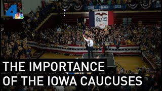 The Candidates and Iowa  | NewsConference | NBCLA