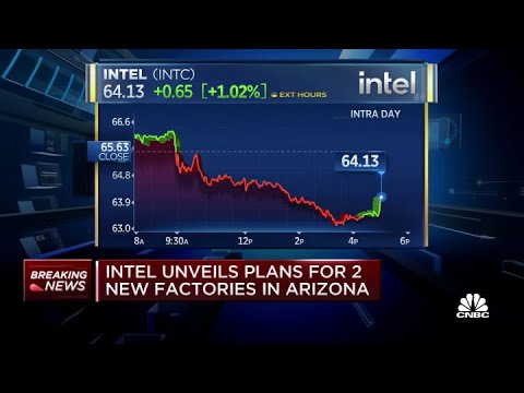 Intel announces steps to boost chip manufacturing