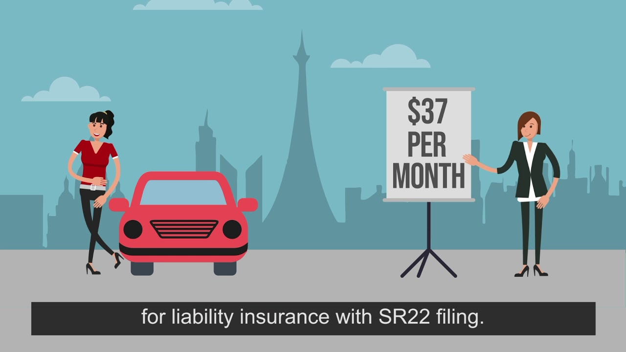 How Much Does SR22 Insurance Cost? - YouTube