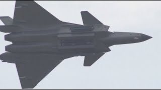 Полёт «Чёрного орла»: Китай показал новейшие истребители Chengdu J-20