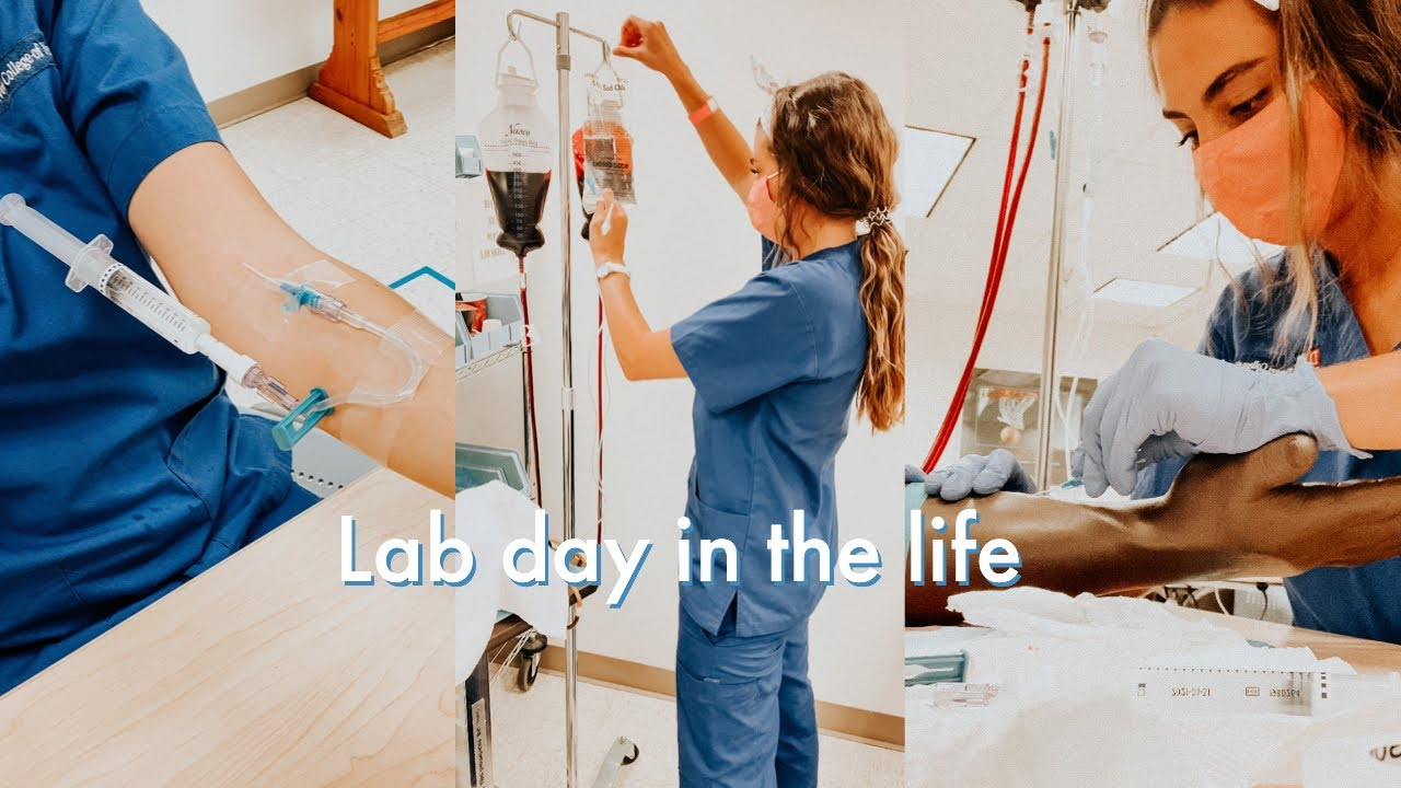 Download day in the life of a nursing student - learning IVs in lab!