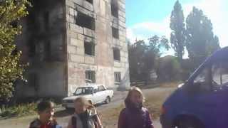 Город Первомайск ЛНР. Октябрь 2015