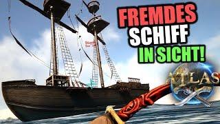 Atlas EU PvP Server #4 Fremdes Schiff in Sicht! | Atlas Gameplay German | Atlas Deutsch